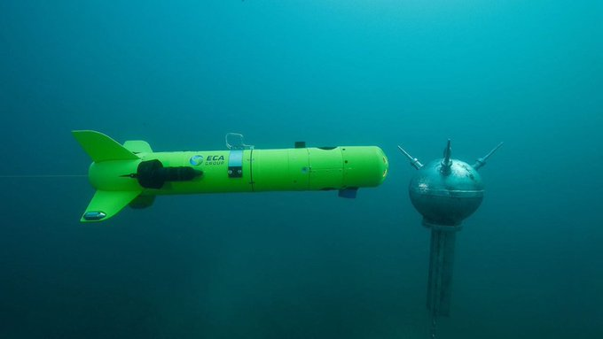 ECA Group wins a contract for modernizing mine clearance robots