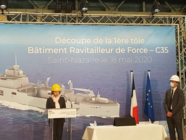 Naval Group begins construction of French Navy's Next-Gen Replenishment Tanker