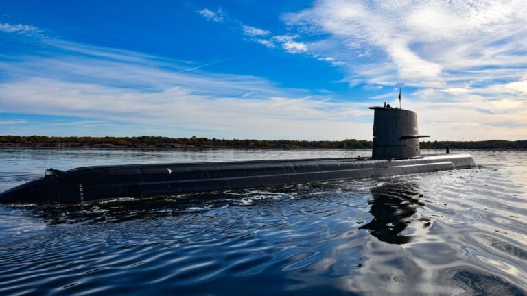 SAAB delivers A-19 class submarine HSwMS Gotland to Swedish Navy after modernization