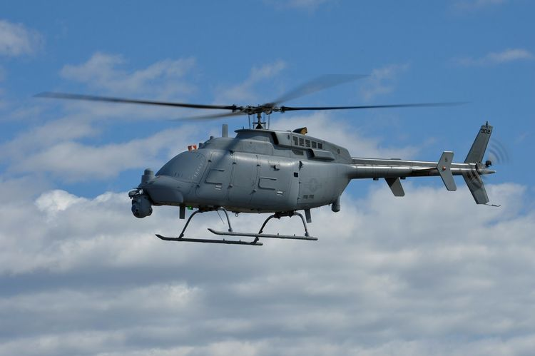 The U.S. Navy commences flight tests of the MQ-8C Fire Scout equipped with ANZPY-8 radar