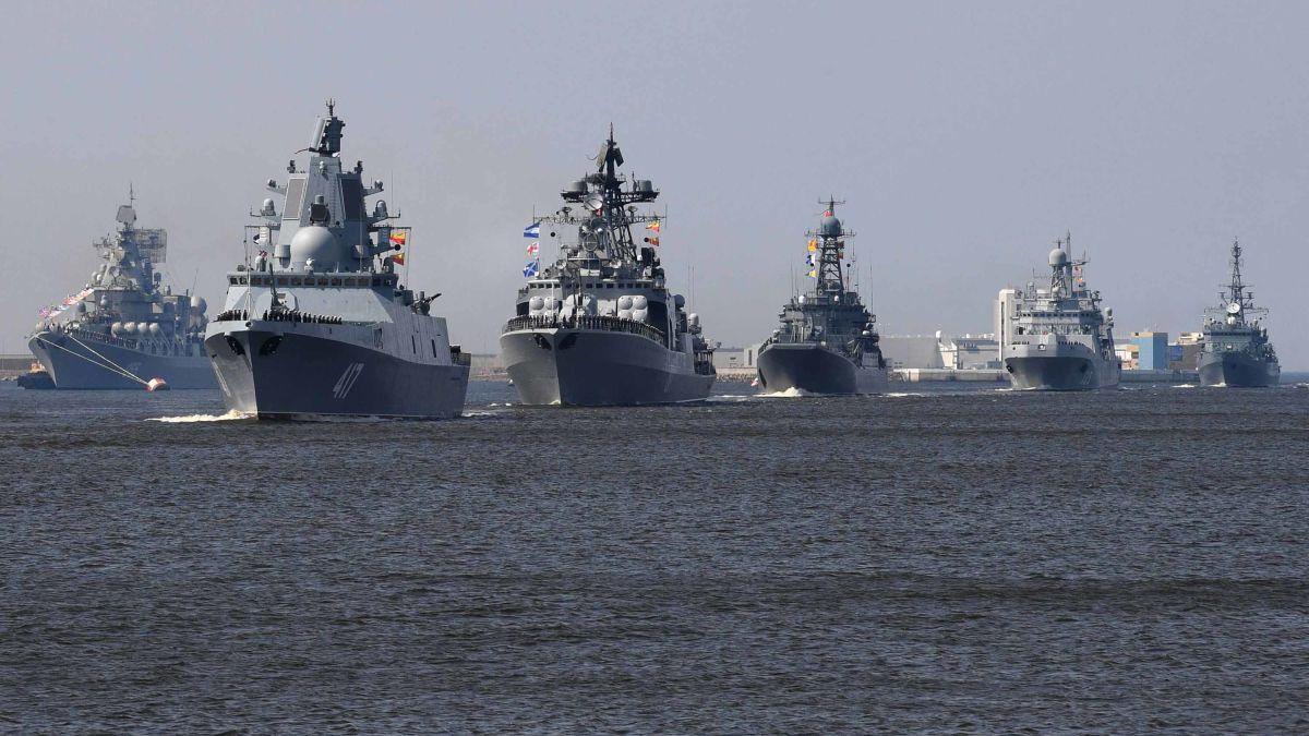 More than 40 warships to take part Russian Naval Parade
