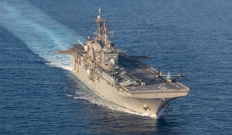 HII Awarded Advance Procurement Contract for Amphibious Ship LHA 9