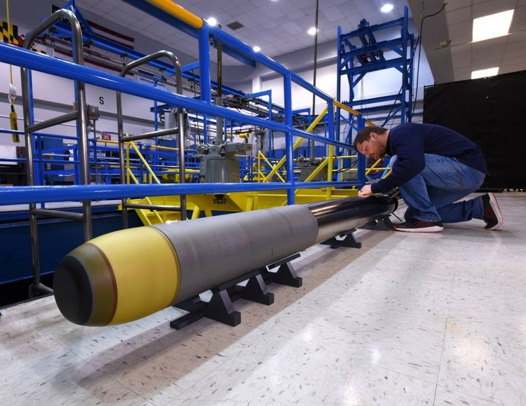 Northrop Grumman Builds Very Lightweight Torpedo for the U.S. Navy