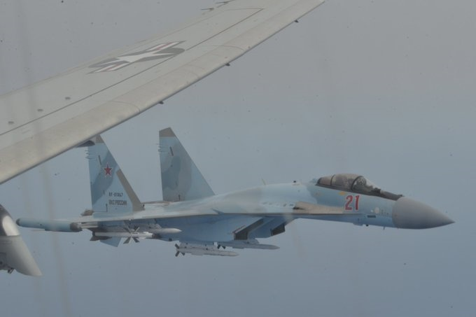 U.S. Navy again accuses Russian jets of 'unsafe' aerial encounter