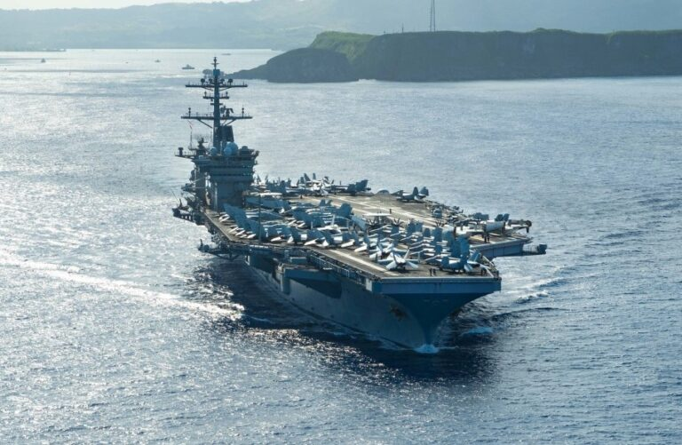 USS Theodore Roosevelt Returns to Sea