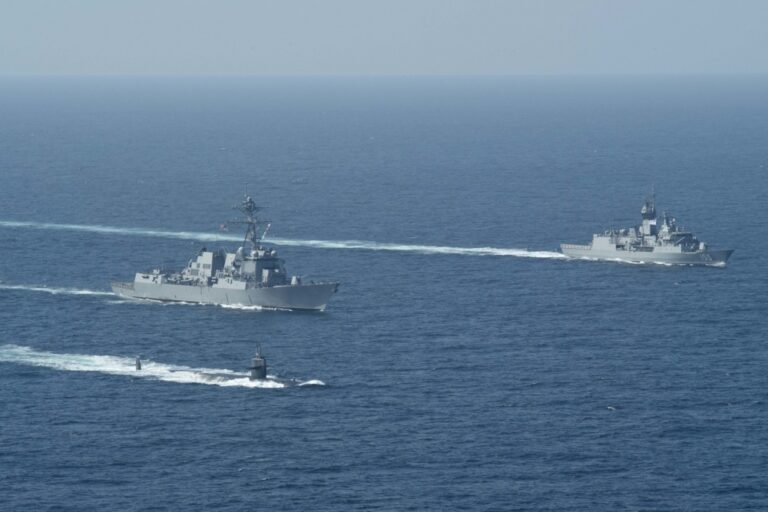 U.S. Navy Submarines join surface ships and aircraft in interoperability exercise