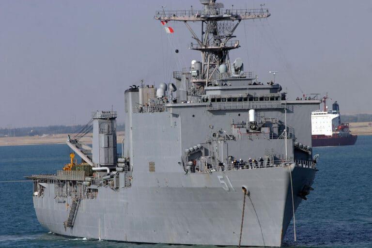USS Oak Hill (LSD-51) En Route to the Black Sea