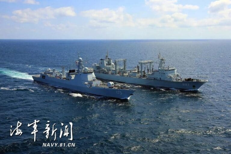 Chinese naval escort task group returns home