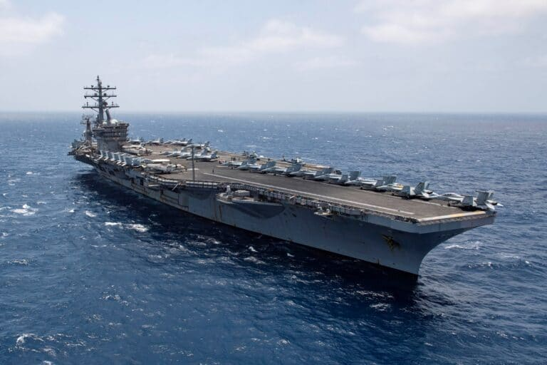 With 161 Days Consecutively Operating At Sea, Dwight D. Eisenhower and San Jacinto Break U.S. Navy Record