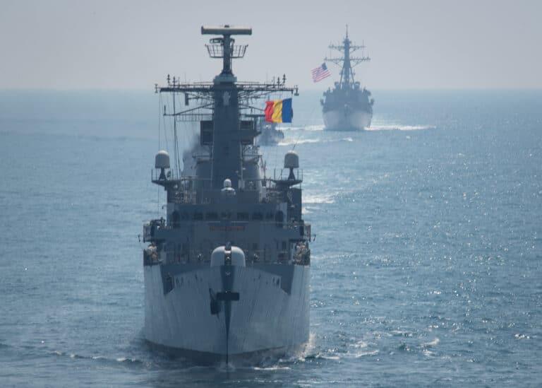 U.S., NATO Allies Conduct Maneuvering Exercises in Black Sea