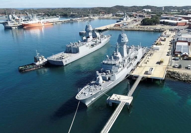Royal Australian Navy Frigate returns service after AMCAP upgrade