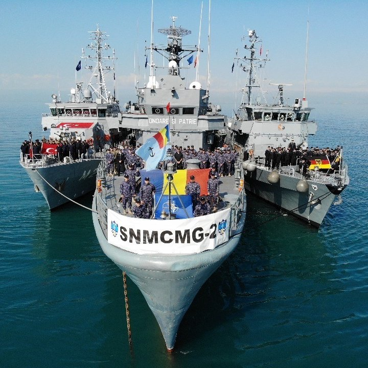 Greece takes the command of SNMCMG-2 from Romania