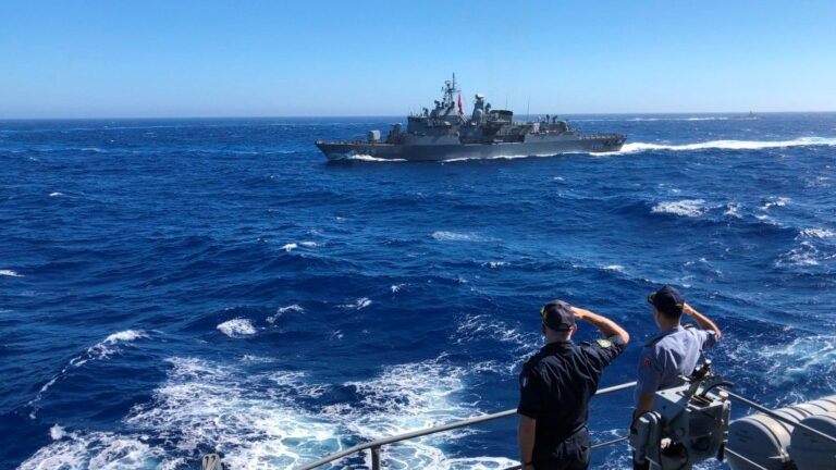 Standing NATO Maritime Group-2 holds drills with Hellenic and Turkish Navies