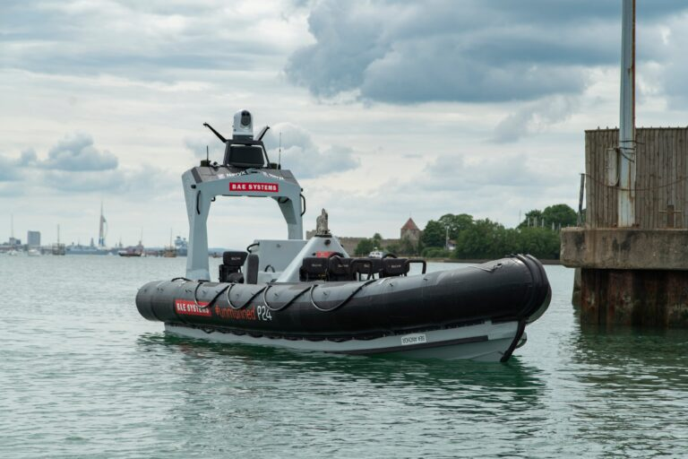 BAE Systems launches Pacific 24 unmanned boat for the Royal Navy