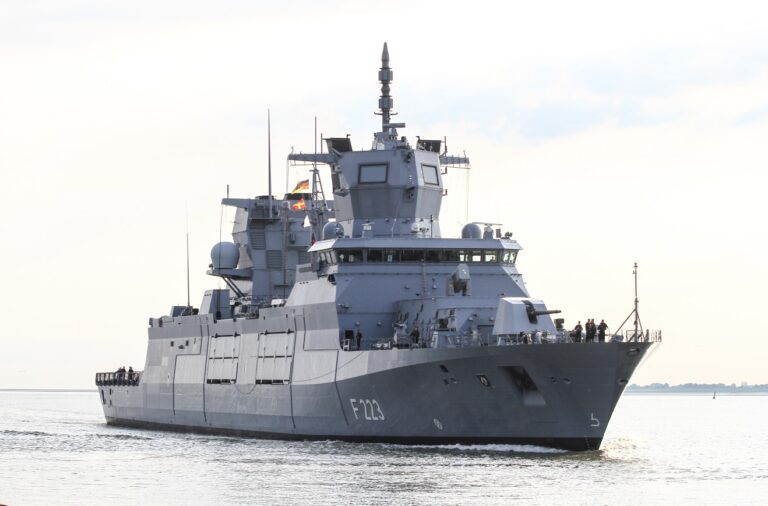 German Navy Commissions Its Second F125 Frigate