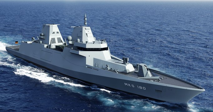 Damen signs the contract for 4 MKS 180 frigates for the German Navy