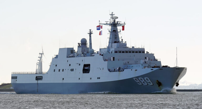 Hudong-Zhonghua Shipbuilding selects LR for two naval projects