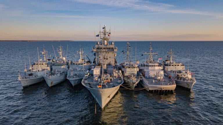 Lithuania takes the command of NATO Mine Countermeasures Group 1