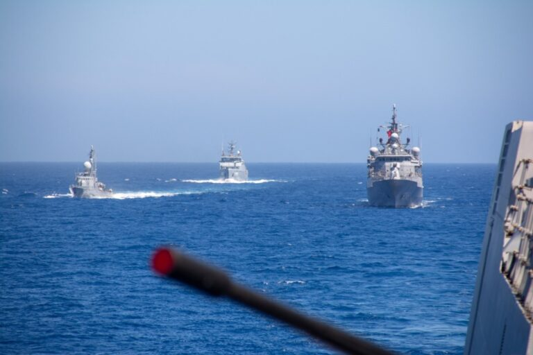 NATO Standing Maritime Group-2 conducts passing exercise with Tunisian Navy
