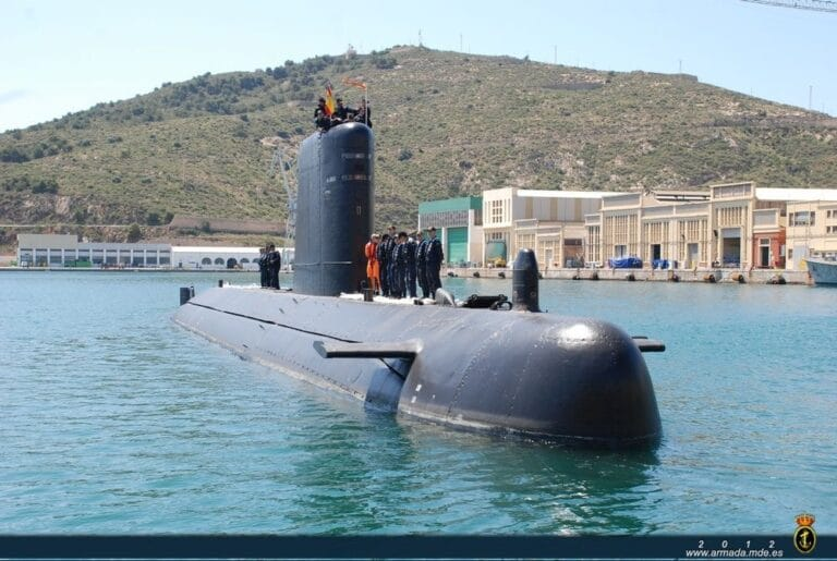 """The Spanish Navy decommissions """"Mistral"""" submarine"""