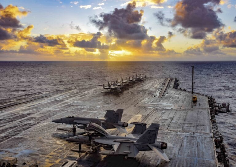 USS Theodore Roosevelt Passes Carrier Qualifications