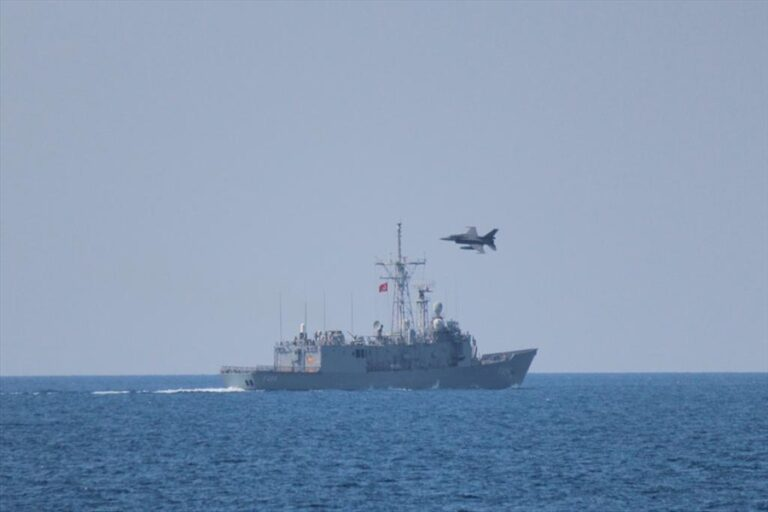 Turkish Navy and Air Force hold coordinated drills off the coast of Libya
