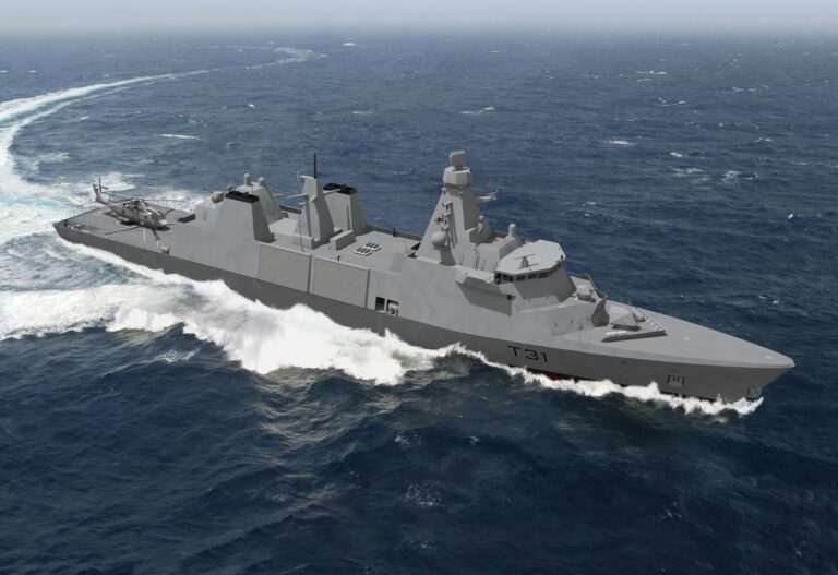 Rolls-Royce seals major propulsion contract for Royal Navy Type 31 frigates