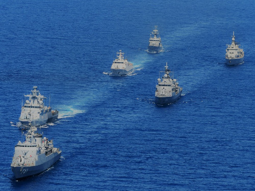 UNIFIL Maritime Task Force holds drills with all participant units