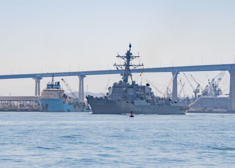 USS Kidd departs from San Diego for Eastern Pacific Deployment