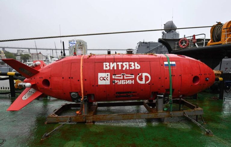 Vityaz-D, the Russian UUV that reached the deepest point of Mariana Trench