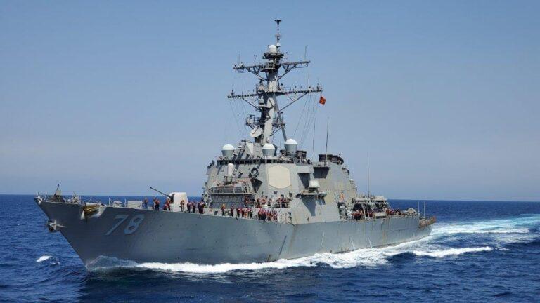 USS Porter en route to the Black Sea