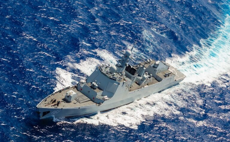 Chinese naval fleet returns from far sea exercise