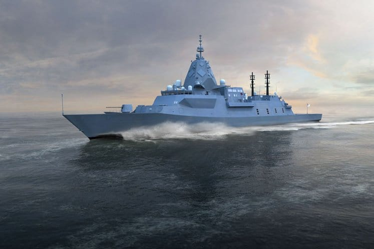 Steel contract marks next step in Hunter Class Frigate Program
