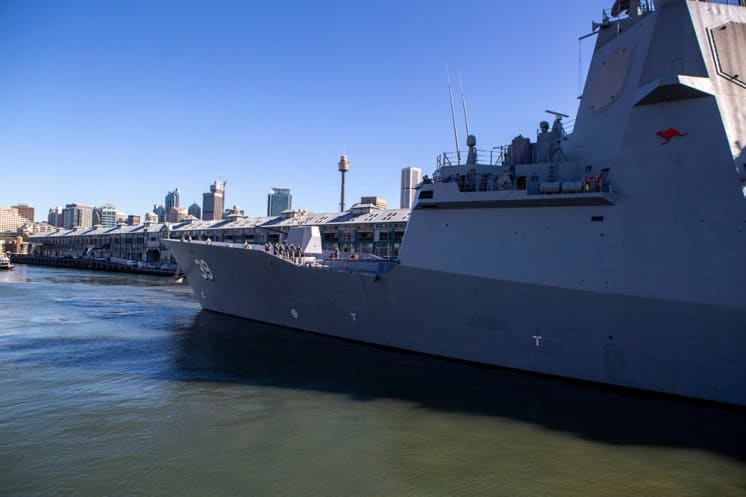 Royal Australian Navy's Seven Ships depart for a period of Training and Tests.