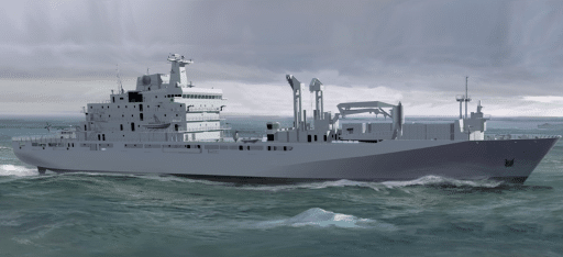 Government of Canada awards contract for construction of joint support ships for Royal Canadian Navy