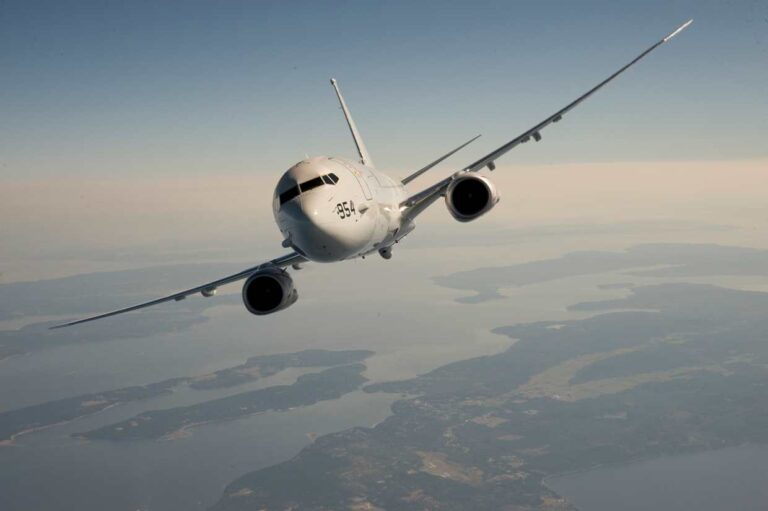 Boeing and Kongsberg signed a contract for P-8 Aircraft maintenance and support