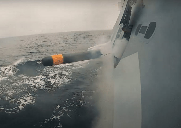 Successful First Surface Ship and Submarine Firings of Saab Lightweight Torpedo