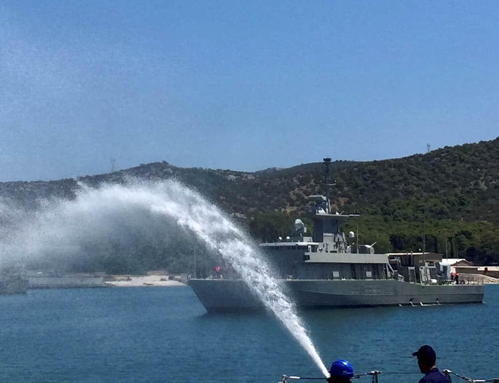 hellenic navy's 6th roussen-class fpb hs karathansis