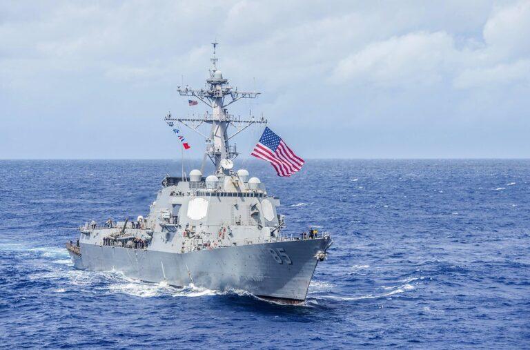 USS McCampbell leaves Japan for modernization
