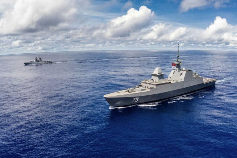 Singapore and Brunei navies hold bilateral exercise named Pelican