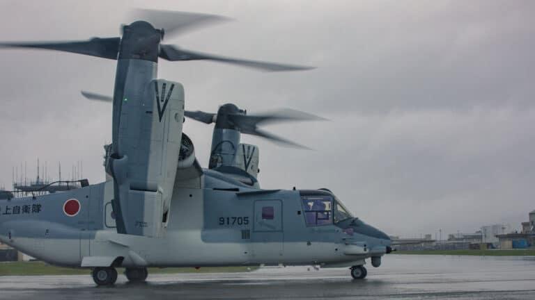 Bell Boeing delivers first V-22 Osprey to Japan