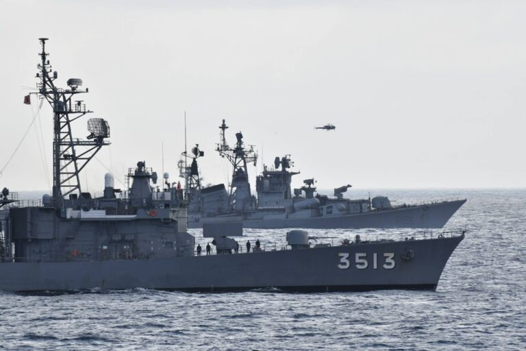 Indian and Japanese naval assets hold exercises in the Indian Ocean
