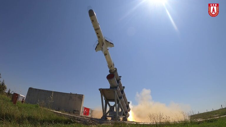 Turkey test-fires indigenous anti-ship missile Atmaca