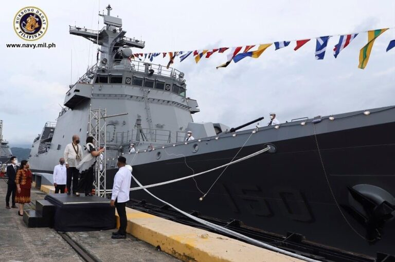 Philippine Navy Commissions Its First Missile Capable Frigate Jose Rizal