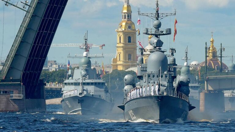 Russia celebrates Navy Day with Naval Parades