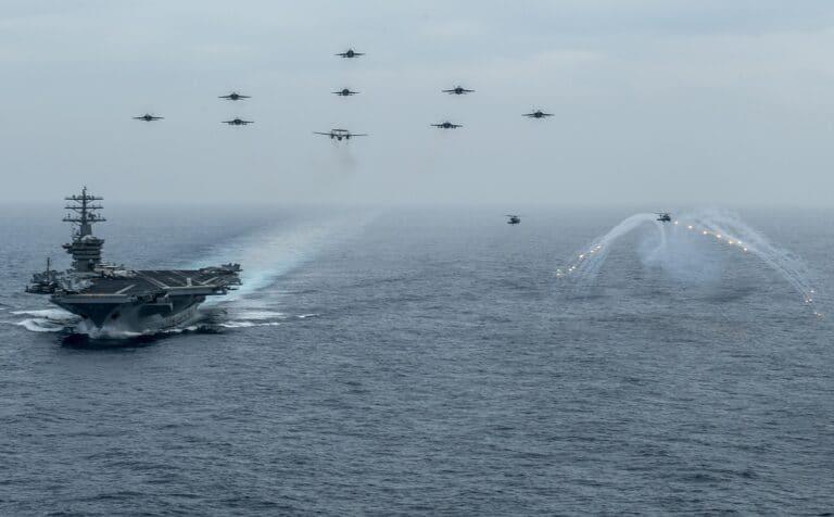 Nimitz Carrier Strike Group joins U.S. 5th Fleet