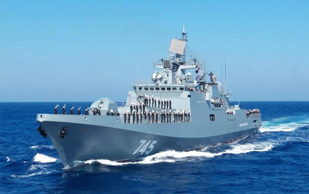 russian black sea fleet frigates repel enemy missile strike in mediterranean drills 925 001 - naval post- naval news and information