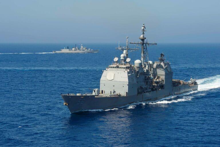 Eisenhower Strike Group Exercises with Hellenic Navy