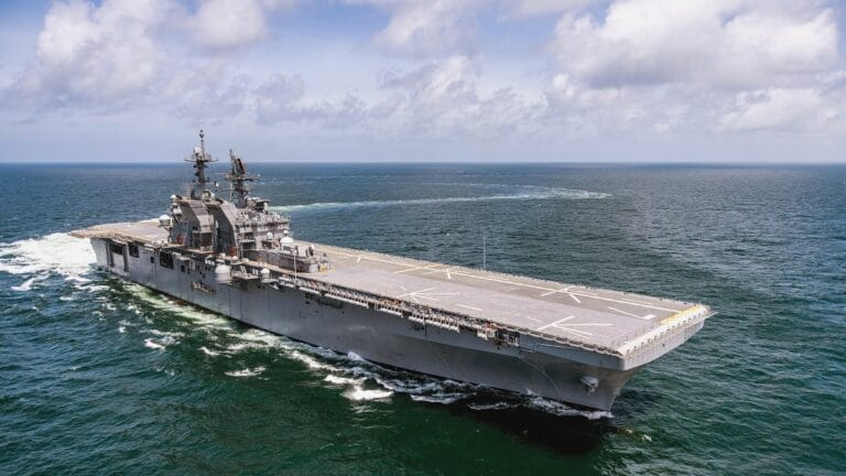 U.S. Navy commissions Amphibious Assault Ship USS Tripoli