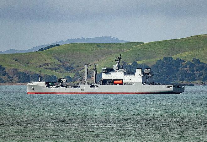 Hensoldt delivers Naval Bridge System for New Zealand's newest replenishment tanker